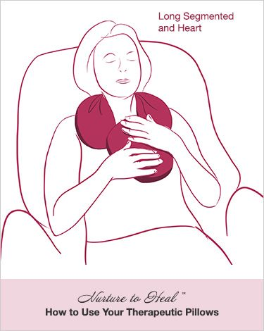 Nurture to Heal Therapeutic Pillows The Round and The Heart